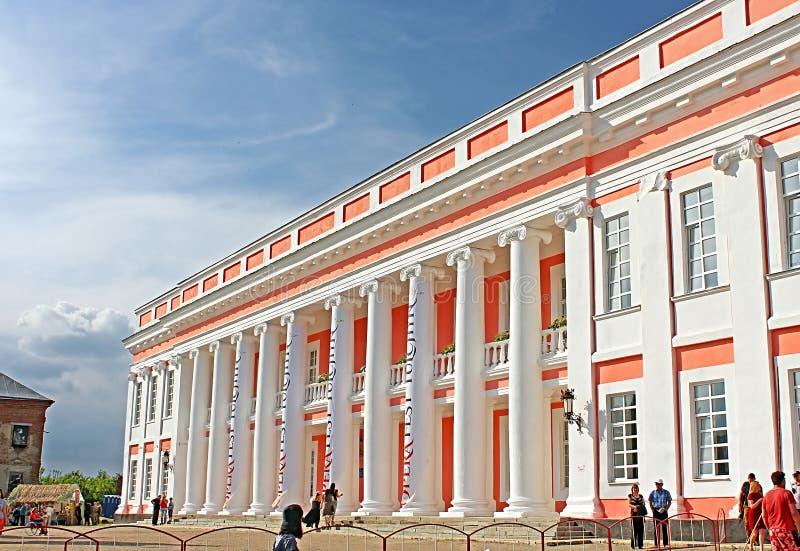 Palazzo di Potocki OperaFestTulchyn, festival internazionale dell'aria aperta di opera, è stato tenuto in Tulchyn fotografia stock libera da diritti