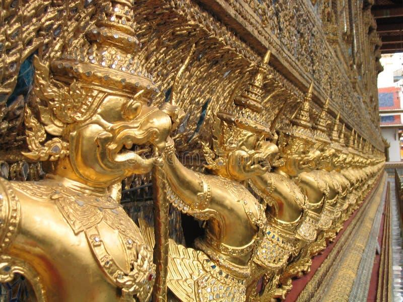 Palazzo di regno a Bangkok immagine stock libera da diritti