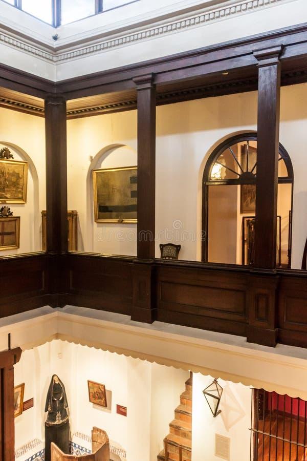 Palazzo di Rivera della casa a Montevideo fotografia stock libera da diritti