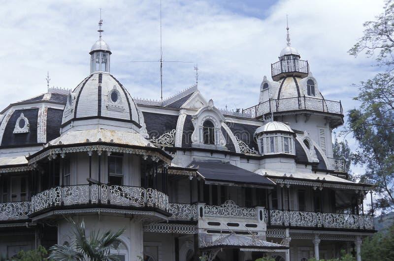 Palazzo di Roomor a Port of Spain, Trinidad immagini stock libere da diritti