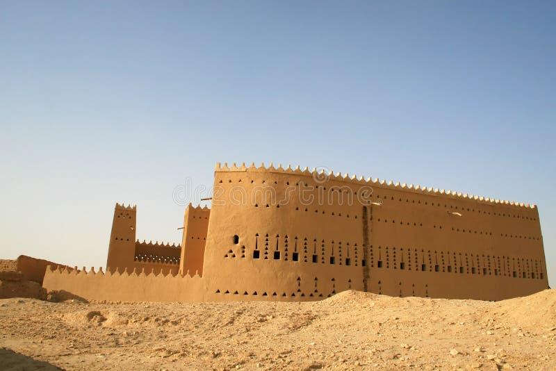Palazzo di Saud del ibn di Saad fotografia stock libera da diritti