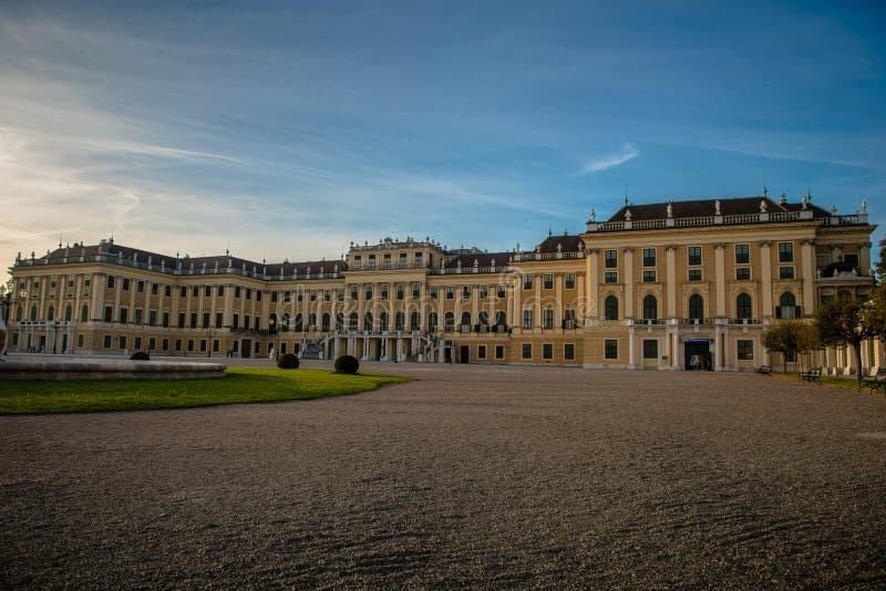 Palazzo di Schönbrunn fotografie stock libere da diritti