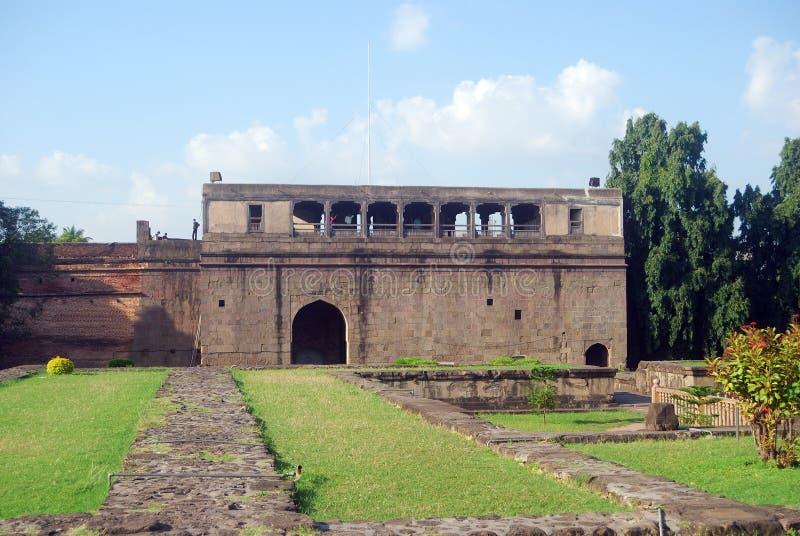 Palazzo di Shaniwar Wada, Pune, India fotografia stock libera da diritti