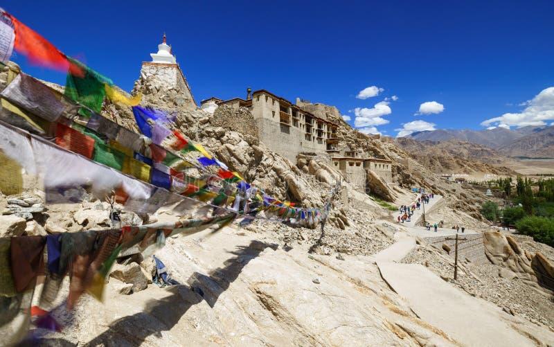 Palazzo di Shey, Leh, Ladakh, il Jammu e Kashmir, India immagine stock