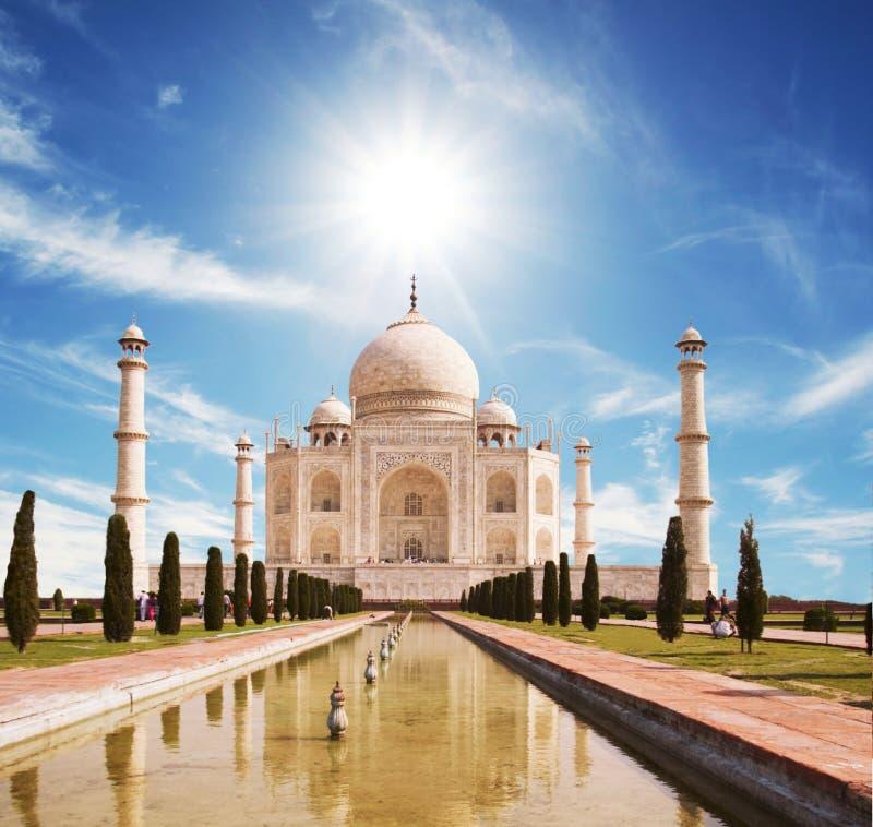 Palazzo di Taj Mahal immagine stock