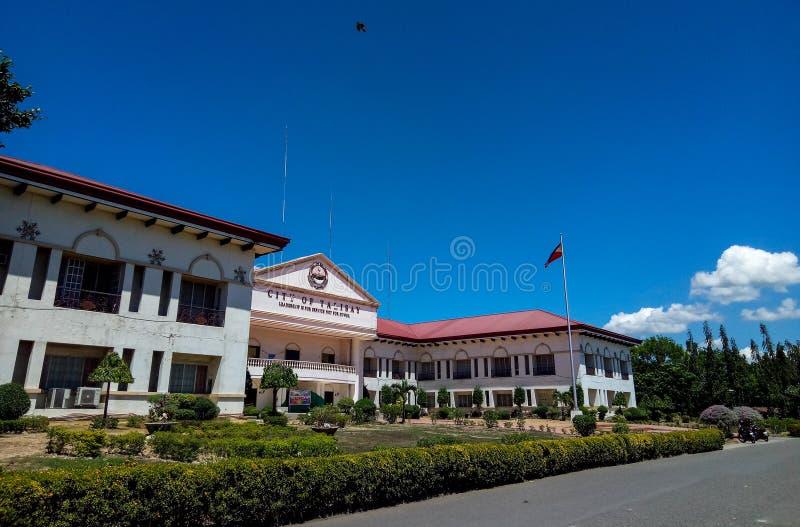 Palazzo di Talisay Cityhall, Cebu, Filippine fotografia stock