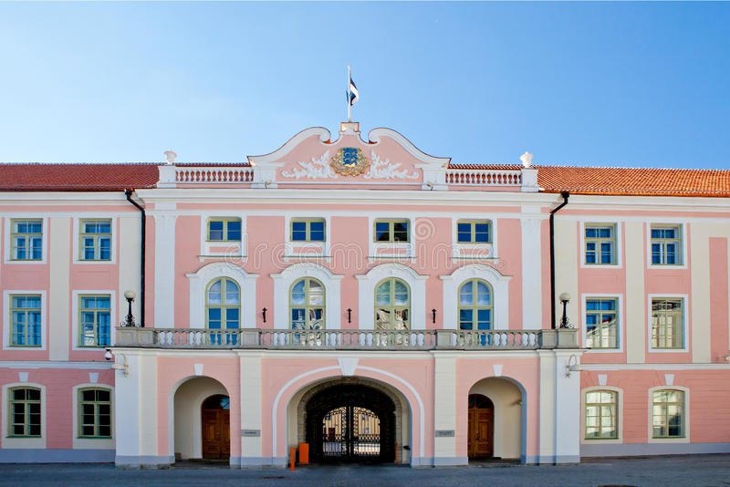 Palazzo di Toompea, Tallinn immagine stock