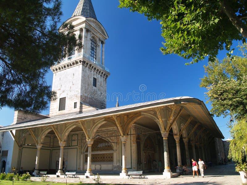 Palazzo di Topkapi a Costantinopoli fotografie stock libere da diritti