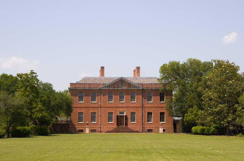 Palazzo di Tryon a nuova Berna, Nord Carolina immagine stock libera da diritti