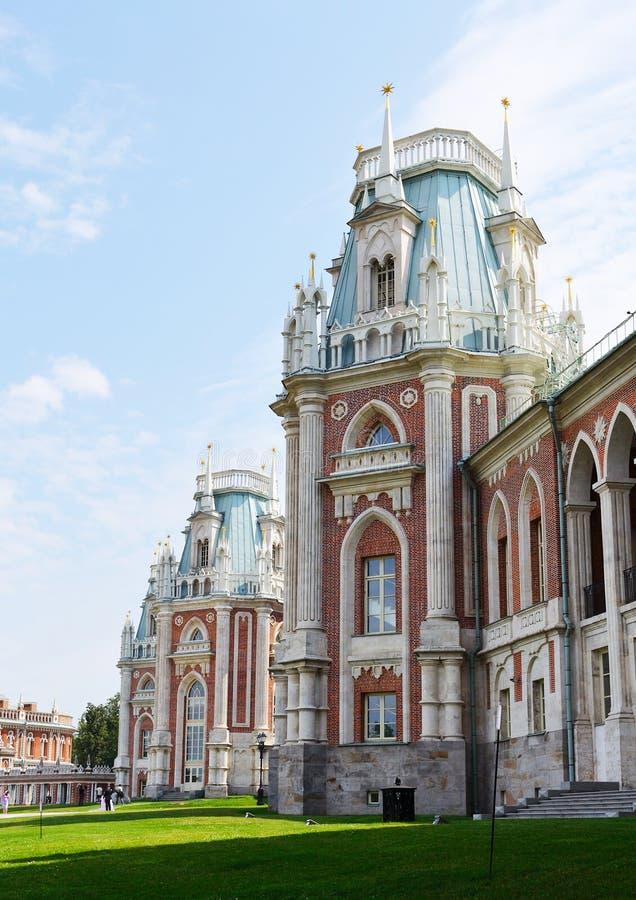 Palazzo di Tsaritsino a Mosca immagini stock