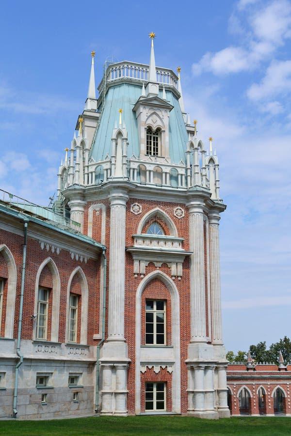 Palazzo di Tsaritsino a Mosca fotografia stock