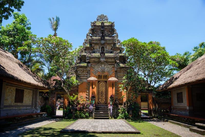 Palazzo di Ubud, Bali fotografie stock libere da diritti