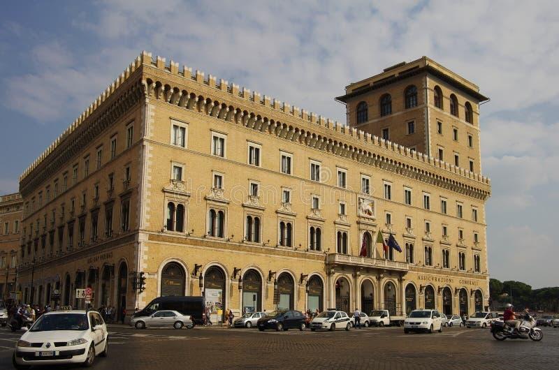 Palazzo Di Venezia stock foto's