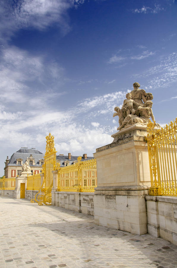 Palazzo di Versailles, Parigi immagine stock