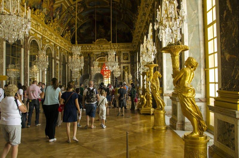 Palazzo di Versailles, Parigi fotografie stock libere da diritti