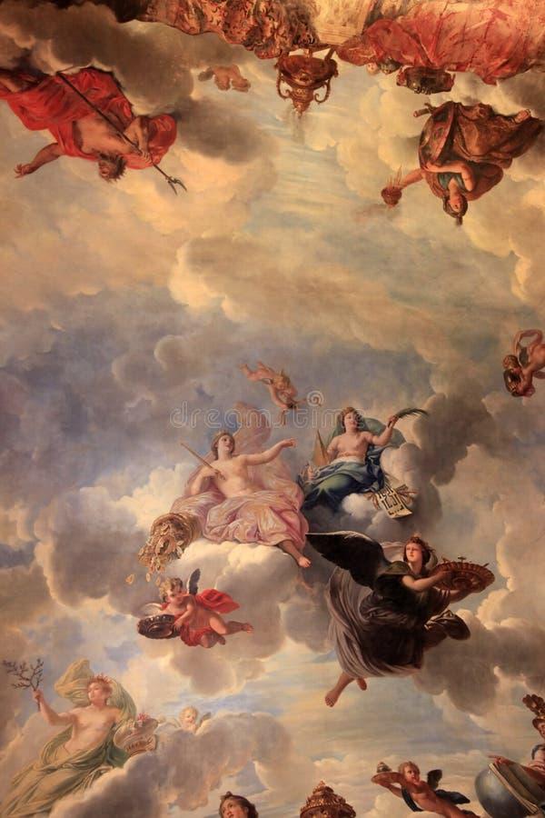 Palazzo di Versailles - Parigi immagini stock libere da diritti