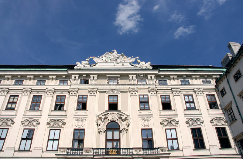 Palazzo di Vienna immagine stock libera da diritti