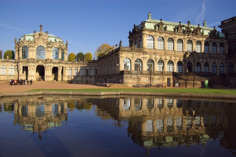 Palazzo di Zwinger a Dresda immagini stock libere da diritti