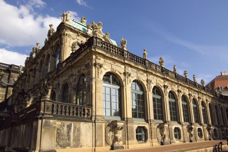 Palazzo di Zwinger a Dresda fotografie stock