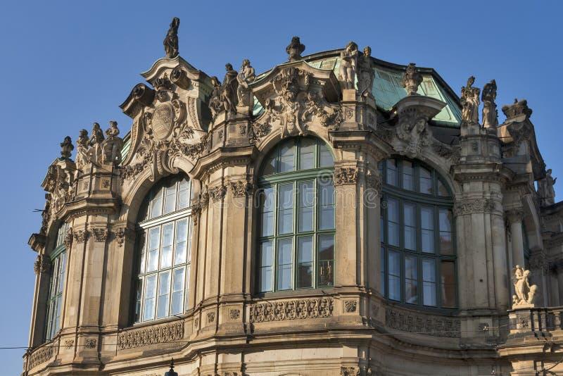 Palazzo di Zwinger a Dresda, Germania. fotografia stock