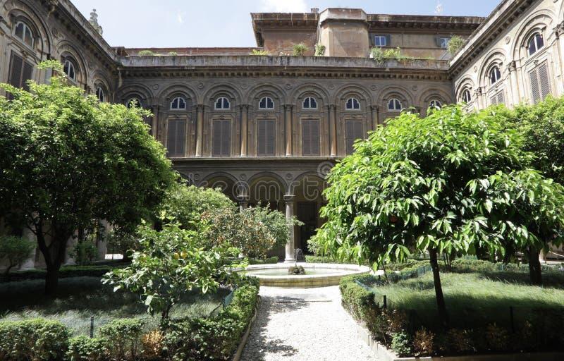 Palazzo Doria Pamphili in Rome stock afbeelding