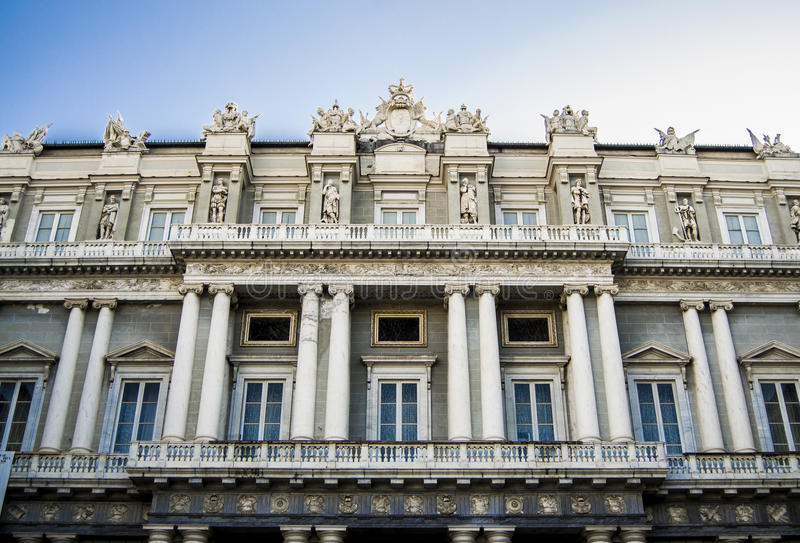 Palazzo Ducale, Γένοβα στοκ εικόνα με δικαίωμα ελεύθερης χρήσης
