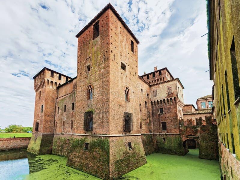 Palazzo Ducale em Mantua fotografia de stock royalty free