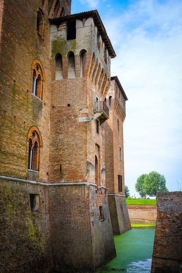 Palazzo Ducale em Mantua fotos de stock royalty free