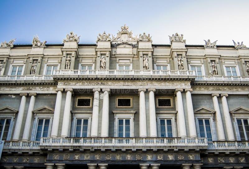 Palazzo Ducale, Génova imagen de archivo libre de regalías