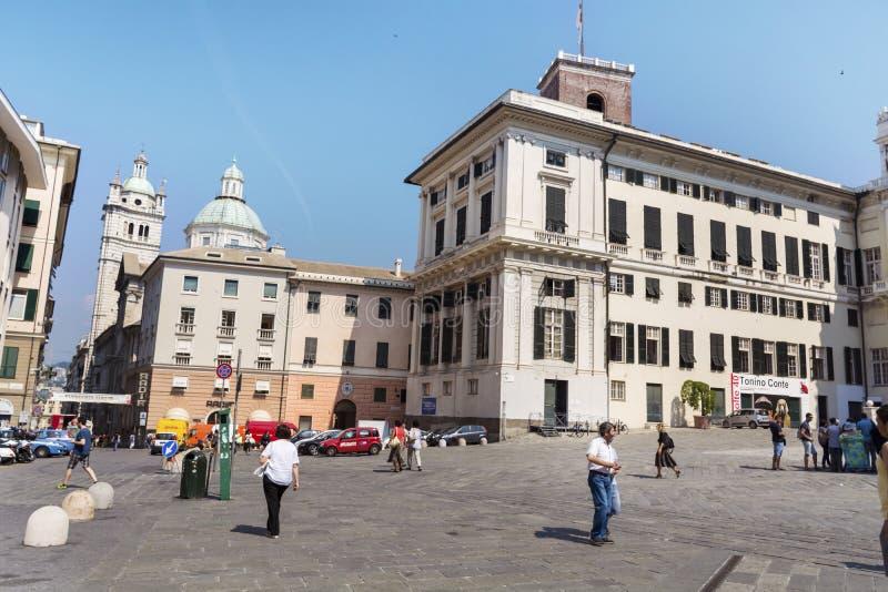 Palazzo ducale, Genova, Italia immagini stock