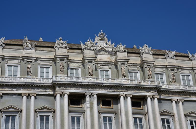 Palazzo Ducale Genua - Genoa Landmarks stockfoto