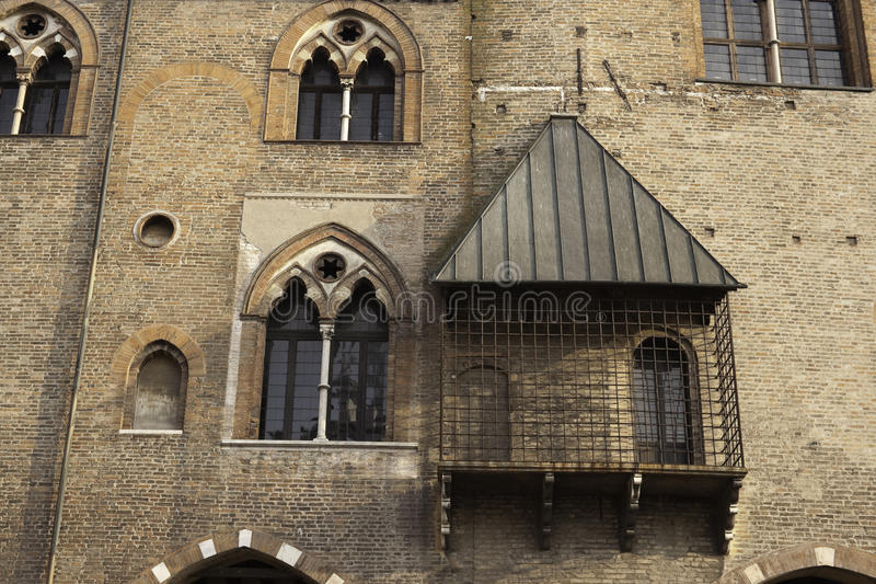 Palazzo Ducale In Mantova Royalty Free Stock Photography