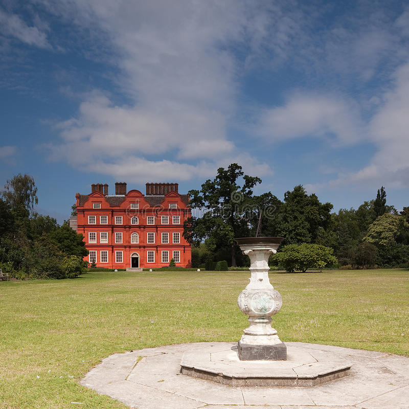 Palazzo e giardini di Kew fotografie stock