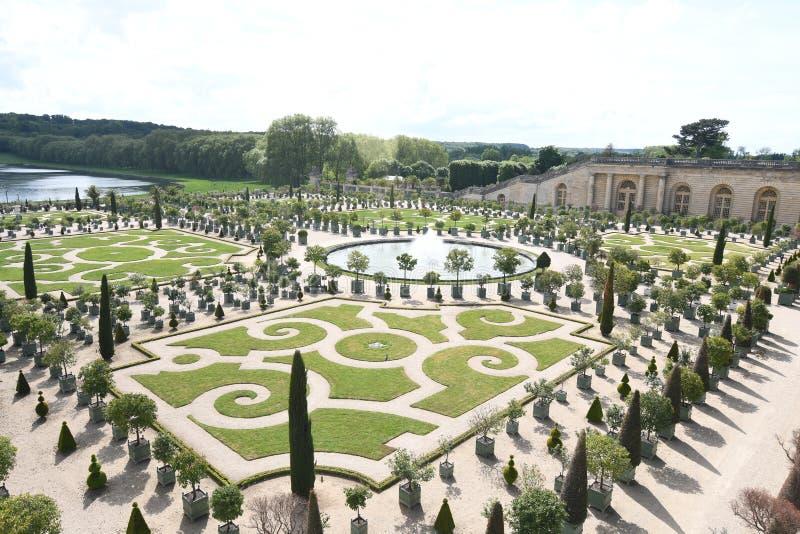 Palazzo e sosta di Versailles, Francia fotografie stock libere da diritti