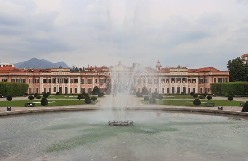 Palazzo Estense, hôtel de ville de Varèse photos stock