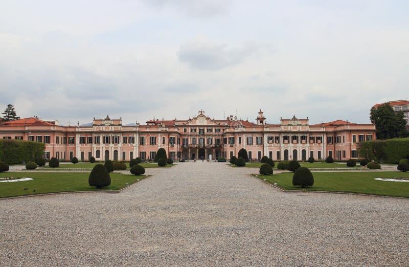 Palazzo Estense, hôtel de ville de Varèse image libre de droits