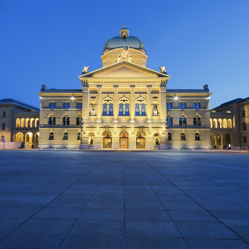 Palazzo federale della Svizzera fotografia stock