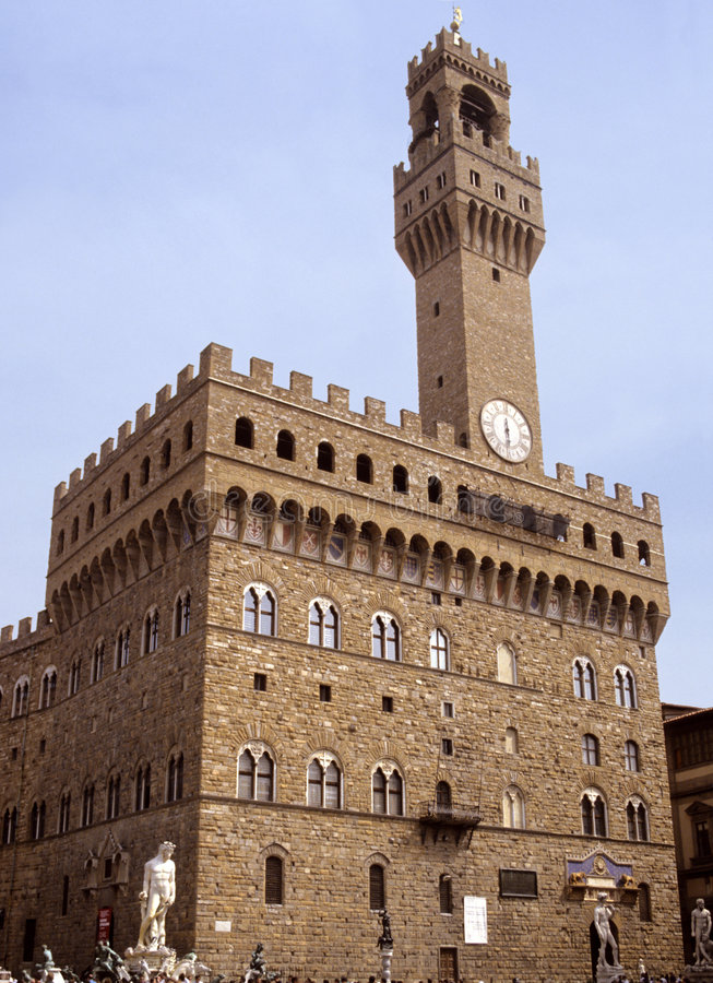 Palazzo Florence Стоковые Изображения