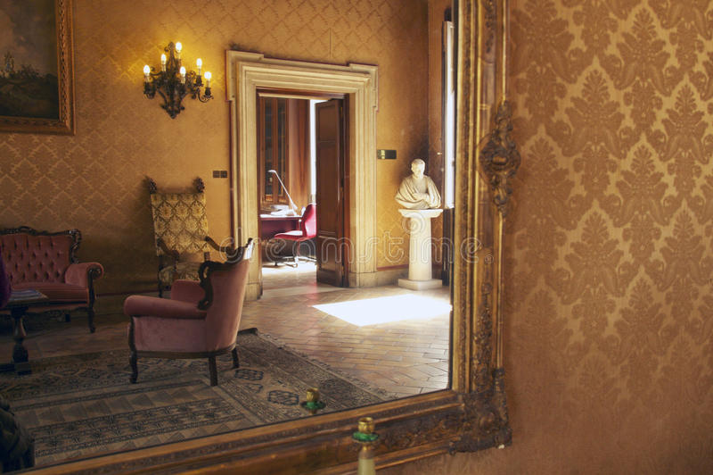 Palazzo gaddi-Cesi royalty-vrije stock foto's