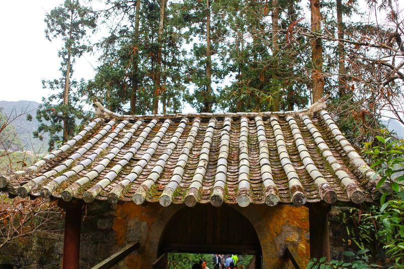 Palazzo Ha Giang leggendario, Vietnam del ` s di Vuong Family immagine stock libera da diritti