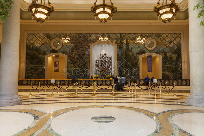 Download Palazzo Hotel Guest Registration Area In Las Vegas, NV On August Editorial Image - Image: 32702150