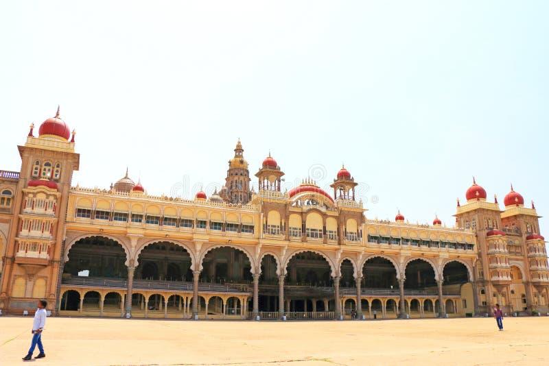 Palazzo il Karnataka India di Mysore fotografia stock