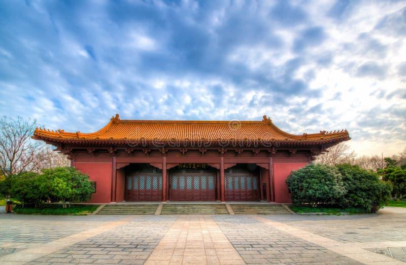 Palazzo imperiale di Ming Dynasty a Nanchino, Cina fotografia stock libera da diritti