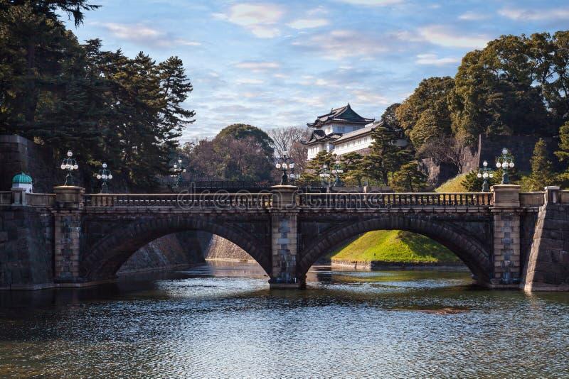 Palazzo imperiale nel Giappone, Tokyo fotografia stock libera da diritti