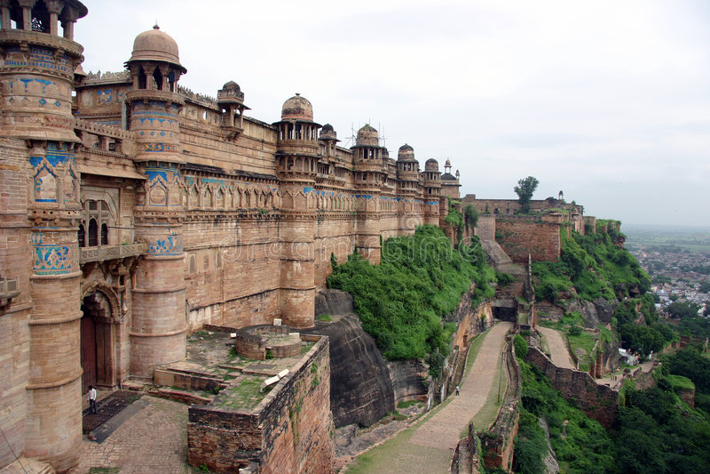 Palazzo in India del Nord fotografie stock