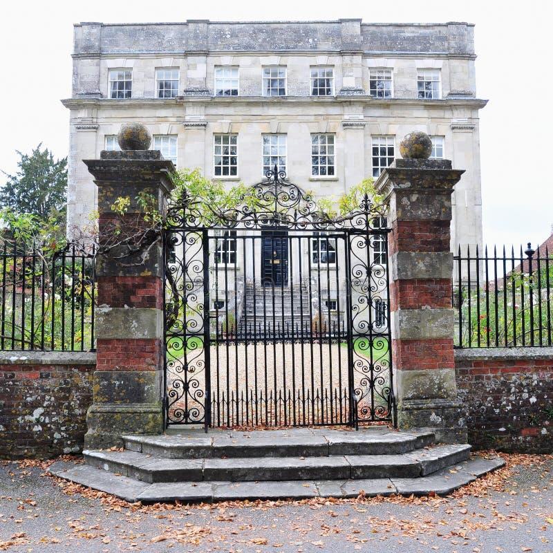 Palazzo inglese tradizionale fotografia stock