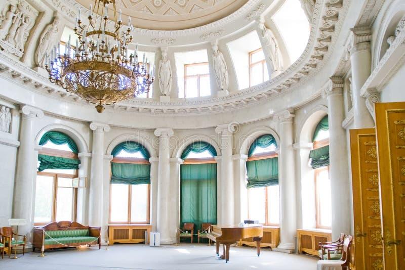 Palazzo interno di Yelagin fotografie stock libere da diritti