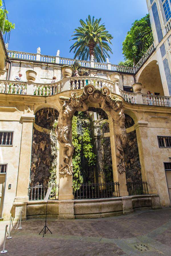 Palazzo Lomellino à Gênes photos libres de droits