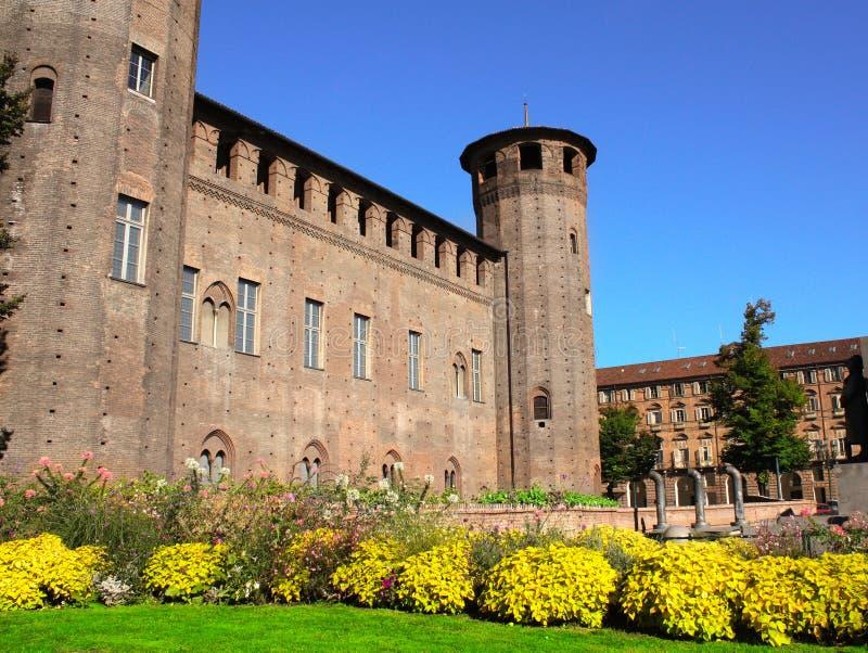 Palazzo Madama em Turin, Itália imagens de stock royalty free