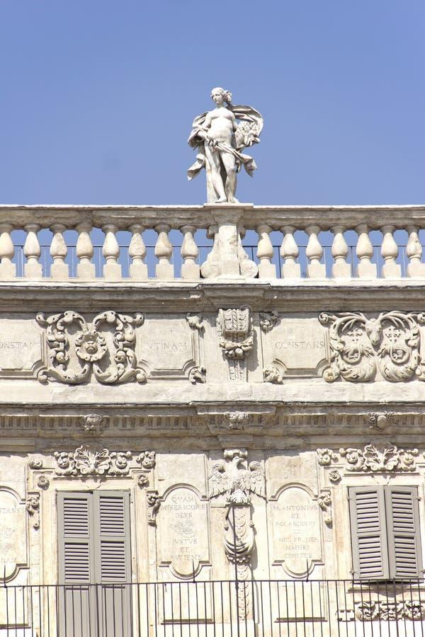 Palazzo Maffei imágenes de archivo libres de regalías